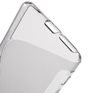 S-line gelový obal na mobil Sony Xperia XA - šedý - 4