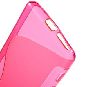 S-line gelový obal na mobil Sony Xperia XA - rose - 4
