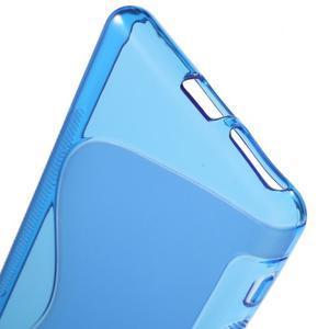 S-line gelový obal na mobil Sony Xperia XA - modrý - 4