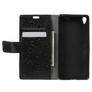 Cartoo peněženkové pouzdro na mobil Sony Xperia XA - černé - 4