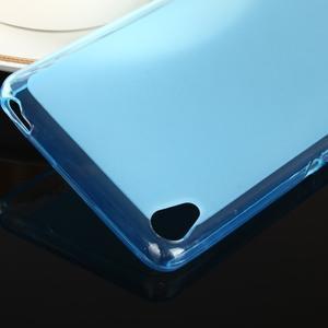 Oboustranně matný gelový obal na Sony Xperia XA - modrý - 4