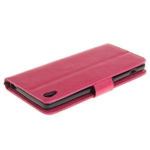 Dandely PU kožené pouzdro na mobil Sony Xperia XA - rose - 4