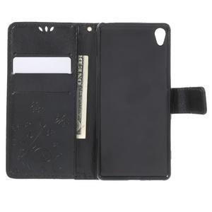 Butterfly pouzdro na mobil Sony Xperia XA - černé - 4