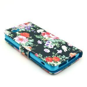 Pouzdro na mobil Sony Xperia Z1 Compact - květinová koláž - 4