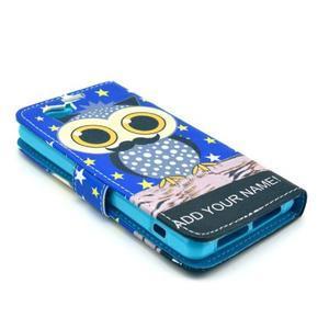 Pouzdro na mobil Sony Xperia Z1 Compact - sova s vousem - 4