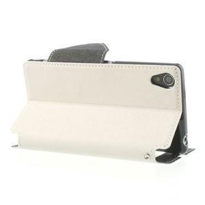 Okýnkové pouzdro na mobil Sony Xperia Z1 - bílé - 4