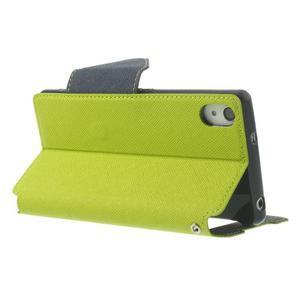 Okýnkové pouzdro na mobil Sony Xperia Z2 - zelené - 4