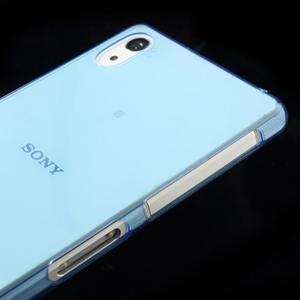 Ultratenký slim gelový obal na mobil Sony Xperia Z2 - modrý - 4