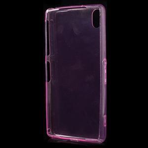 Ultratenký slim gelový obal na mobil Sony Xperia Z2 - rose - 4