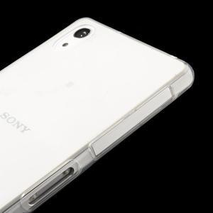 Ultratenký slim gelový obal na mobil Sony Xperia Z2 - transparentní - 4