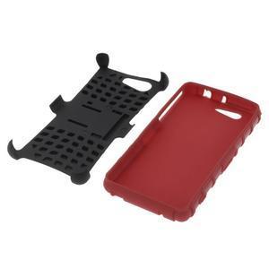 Odolný ochranný kryt na Sony Xperia Z3 Compact - červený - 4