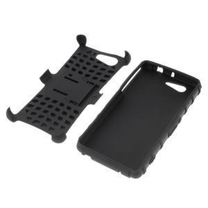Odolný ochranný kryt na Sony Xperia Z3 Compact - černý - 4