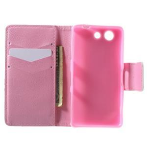 Pictu peněženkové pouzdro na Sony Xperia Z3 Compact - ptáček v kleci - 4