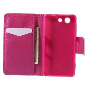 Pictu peněženkové pouzdro na Sony Xperia Z3 Compact - zlomené srdce - 4