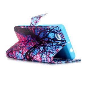 Emotive knížkové pouzdro na Sony Xperia Z3 Compact - strom - 4