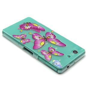 Gelový obal na mobil Sony Xperia Z3 Compact - motýlkové - 4