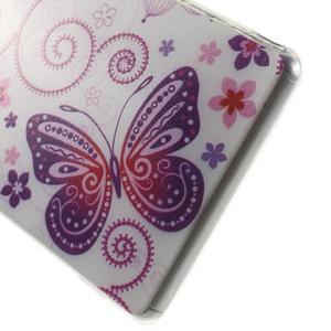 Ultratenký gelový obal na mobil Sony Xperia Z3 - pohádkový motýl - 4