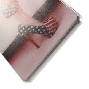 Ultratenký gelový obal na mobil Sony Xperia Z3 - US střevíčky - 4