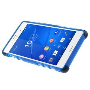 Outdoor ochranný kryt na mobil Sony Xperia Z3 - modrý - 4
