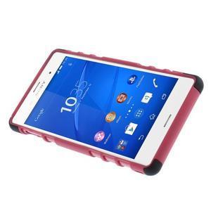 Outdoor ochranný kryt na mobil Sony Xperia Z3 - rose - 4