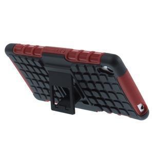 Outdoor ochranný kryt na mobil Sony Xperia Z3 - červený - 4