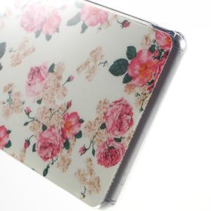 Gelový obal na mobil Sony Xperia Z3 - květiny - 4