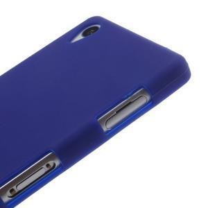 Silikonový obal na mobil Sony Xperia Z3 - tmavěmodrý - 4