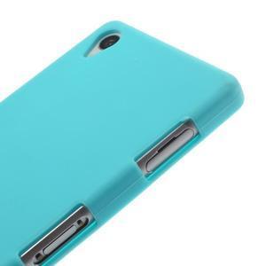 Silikonový obal na mobil Sony Xperia Z3 - světlemodrý - 4