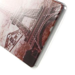 Ultratenký gelový obal na mobil Sony Xperia Z3 - Eiffelova věž - 4