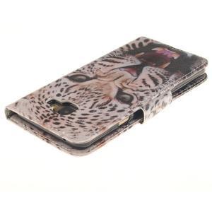 Patt peněženkové pouzdro na Samsung Galaxy A3 (2016) - leopard se zoubky - 4