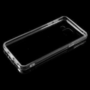 Zrcadlový gelový kryt na Samsung Galaxy A3 (2016) - černý - 4