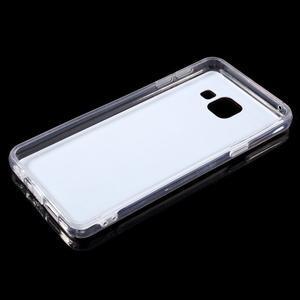 Zrcadlový gelový kryt na Samsung Galaxy A3 (2016) - rose gold - 4