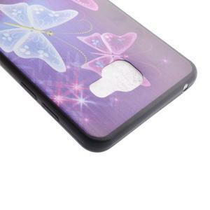 Terry gelový obal na Samsung Galaxy A3 (2016) - kouzelní motýlci - 4