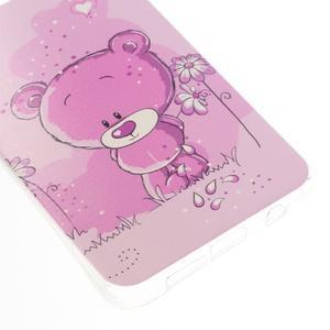 Gelový obal na mobil Samsung Galaxy A3 (2016) - medvídek - 4
