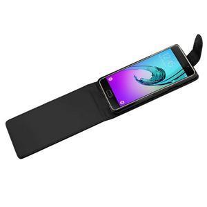 Flipové pouzdro na mobil Samsung Galaxy A3 (2016) - černé - 4