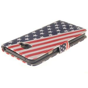 Pouzdro na mobil Samsung Galaxy A3 (2016) - US vlajka - 4