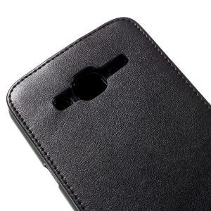 Flipové pouzdro na mobil Samsung Galaxy J3 (2016) - černé - 4