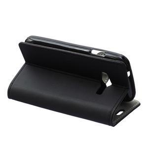 Wall peněženkové pouzdro na Samsung Galaxy Trend 2 Lite - černé - 4