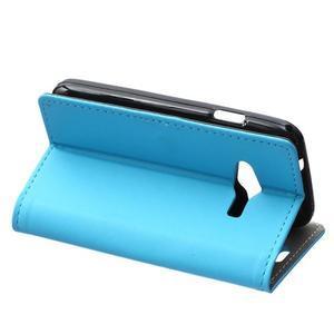 Wall peněženkové pouzdro na Samsung Galaxy Trend 2 Lite - modré - 4