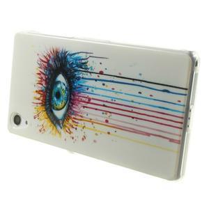 Emotive gelový obal na Sony Xperia Z2 - barevné oko - 4