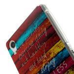 Emotive gelový obal na Sony Xperia Z2 - barvy dřeva - 4/6