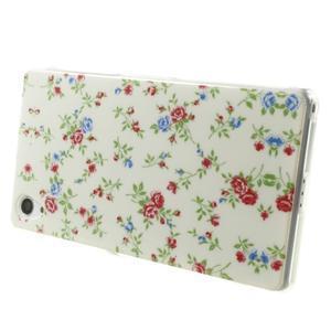 Emotive gelový obal na Sony Xperia Z2 - květiny - 4