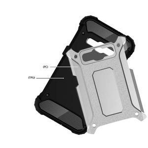 Armory odolný obal na mobil Samsung Galaxy J1 (2016) - stříbrný - 4