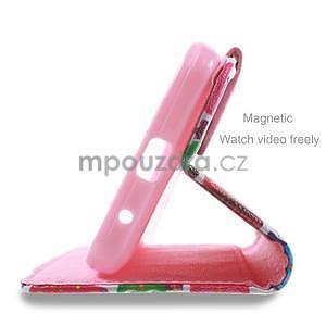 Stylové pouzdro na mobil Huawei Ascend Y550 - sovičky - 4