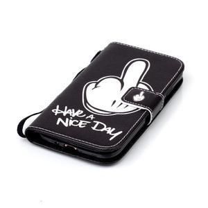 Peněženkové pouzdro na Samsung Galaxy S4 Mini - krásný den - 4