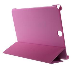 Trifold polohovatelné pouzdro na Samsung Galaxy Tab A 9.7 - rose - 4