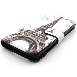 Peneženkové pouzdro na mobil LG G4c - Eiffelova věž - 4