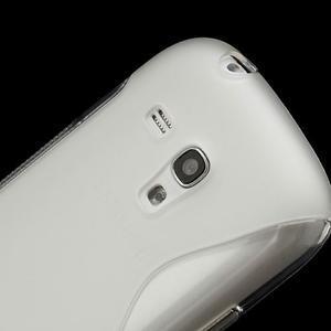 Transparentní gelové pouzdro pro Samsung Galaxy S3 mini /i8190 - 4