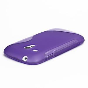 Fialové gelové pouzdro pro Samsung Galaxy S3 mini /i8190 - 4