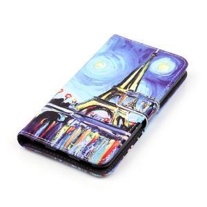 Emotive PU kožené pouzdro na mobil Honor 7 Lite - Eiffelovka - 4